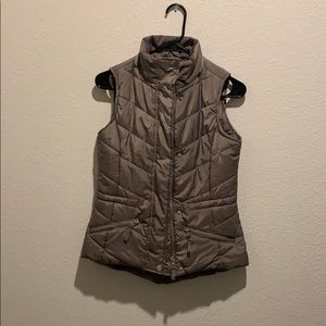 American Rag Grey/Brown Vest